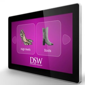 PCAP 10 Point Touch Screen with Dual OS Digital Signage Screen